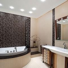 Креативный дизайн в ванной