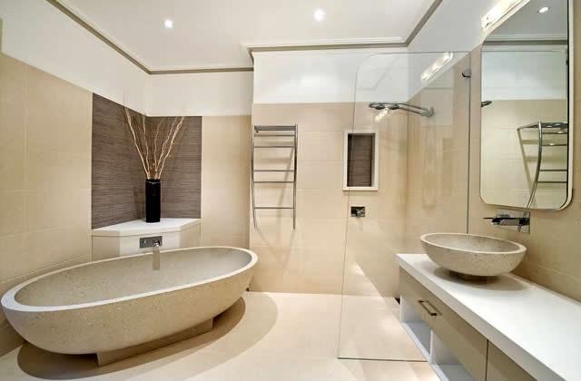 Дизайны потолков из гипсокартона в ванной