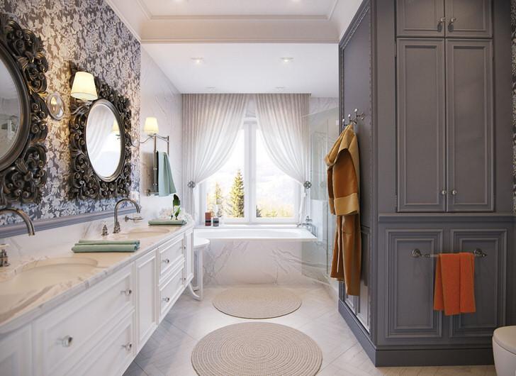Ванная - особенности в стиле прованс (28 фото)