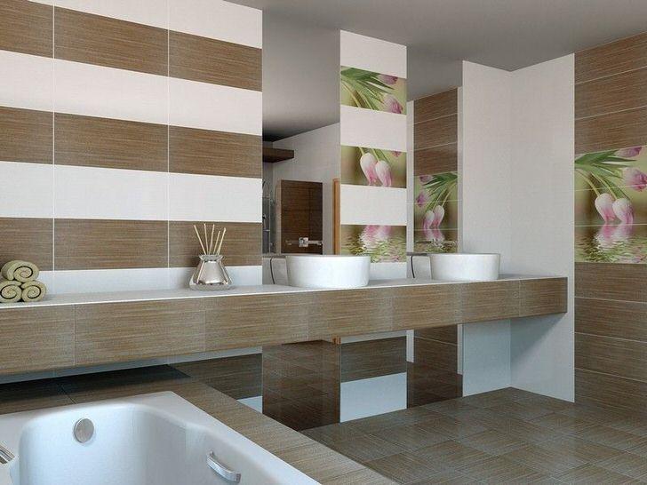 Дизайнерские секреты оформления коричневой ванной комнаты (52 фото)