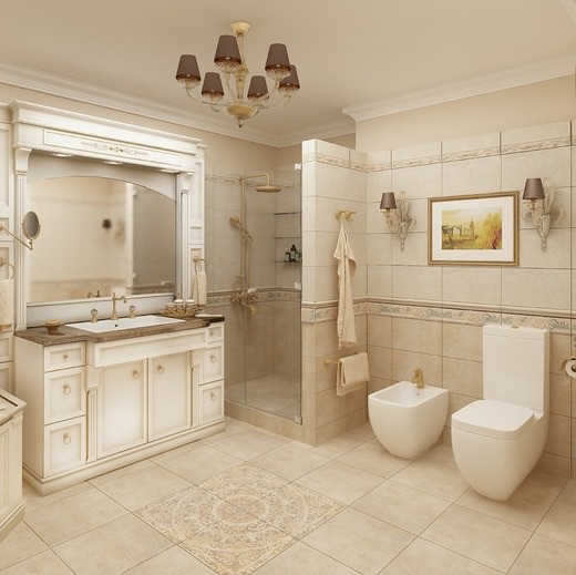 Дизайн классической ванны