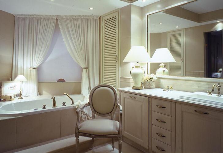 Как оформить ванную комнату в классическом стиле (40 фото)