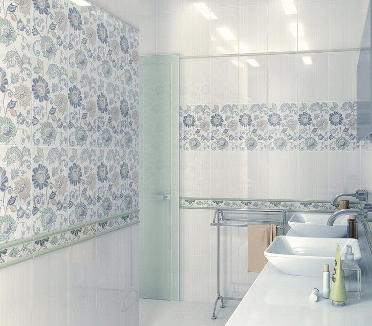 Керамическая и кафельная плитка для ванной комнаты из России (36 фото)