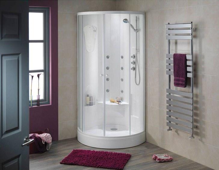 Оптимальный интерьер ванной комнаты в квартире (32 фото)
