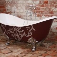 Узорчетая ванна