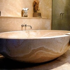 Ванна из искусственного камня