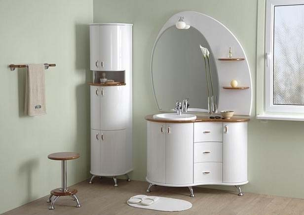 Стильная мебель в ванной