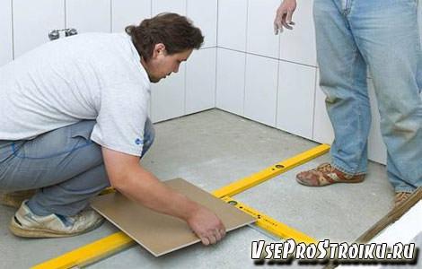 Размерка плитка на пол