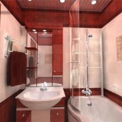 Бардовая комната