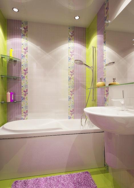 Маленькая ванная комната плитка дизайн