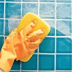 Мытье плитки