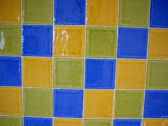 Покраска плитки