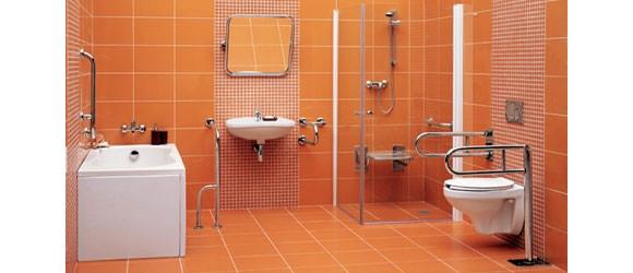 Поручни в ванной комнате