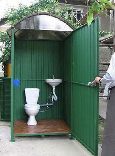 Унитаз для дачного туалет своими руками