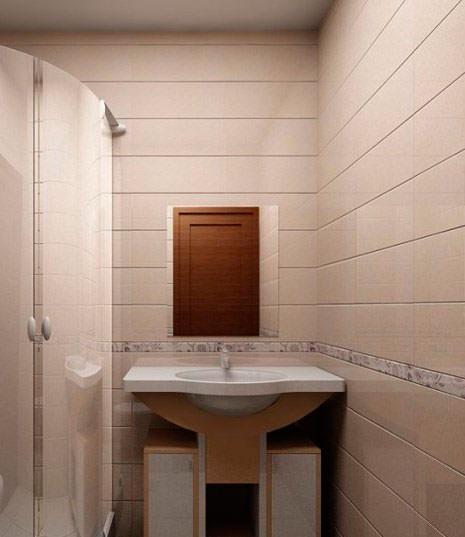 Ванная комната из панелей