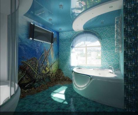 Море в ванне