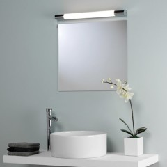 Спокойная подсветка в ванной