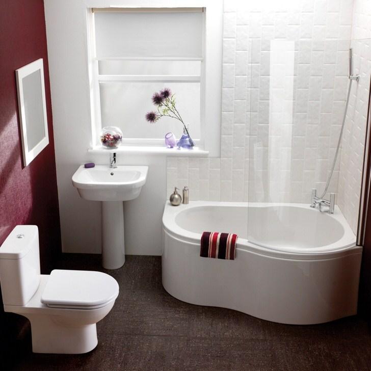 Особенности дизайна небольшой ванной комнаты (100 фото)
