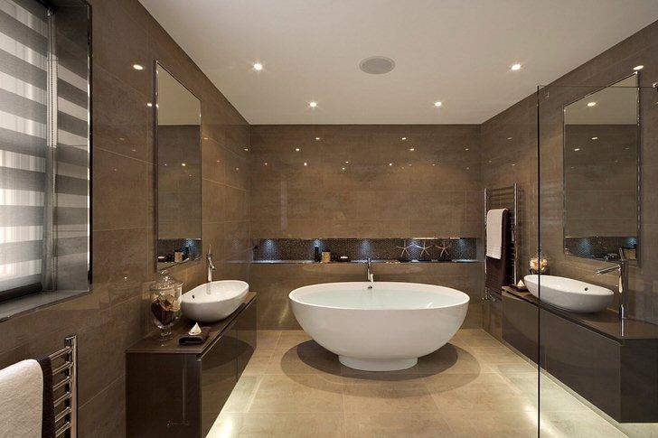 Особенности ванной комнаты по Фэн шуй (62 фото)