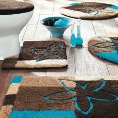 Своими руками коврики в ванную комнату 2