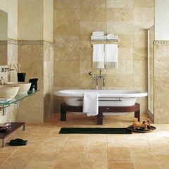 Ванная комната в декаративной штукатурке