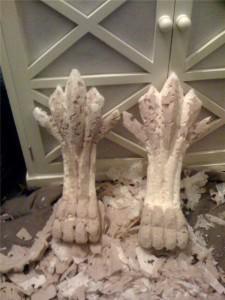 Декоративные ножки для ванной