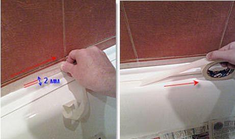 Бордюрная лента для ванной отзывы