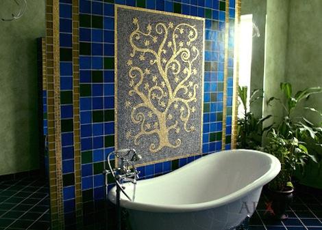 Восточный стиль ванной
