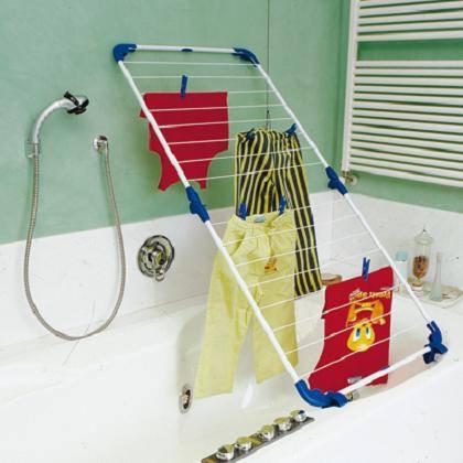 Сушилка в ванной