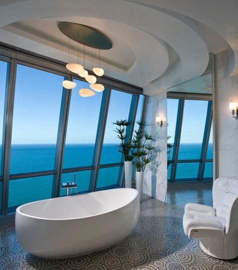 Ванна в стиле модерн: как создать интерьер (58 фото)