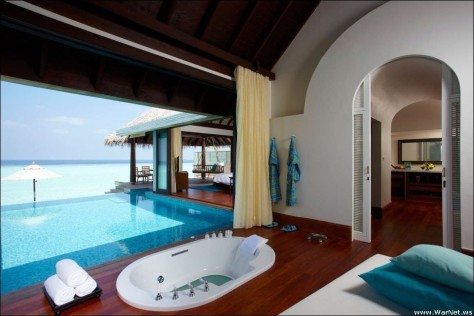 Оформление ванной комнаты в стиле ретро (38 фото)