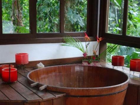 Как оформить ванную комнату в японском стиле