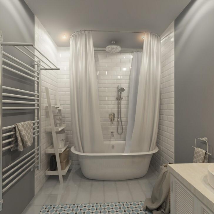 Что представляет собой скандинавский стиль ванной комнаты (50 фото)