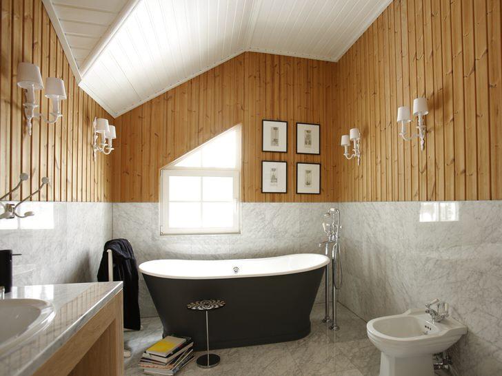 Ванная своими руками в частном доме