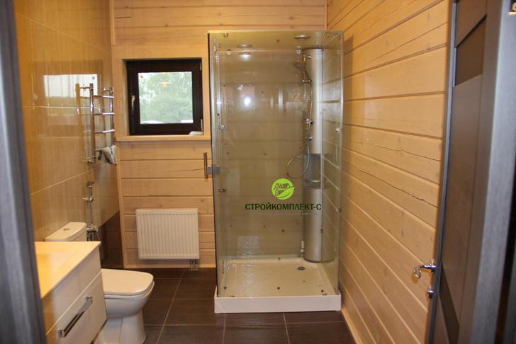 Как сделать душевую комнату в деревянном доме своими руками 772