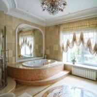 Стили ванных комнат классический