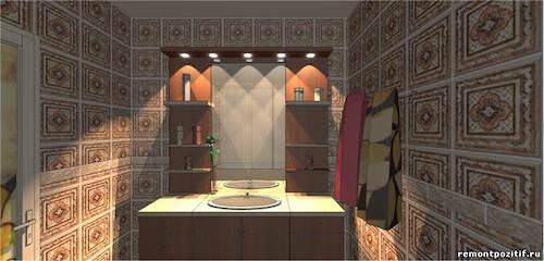 Восточный стиль ванны