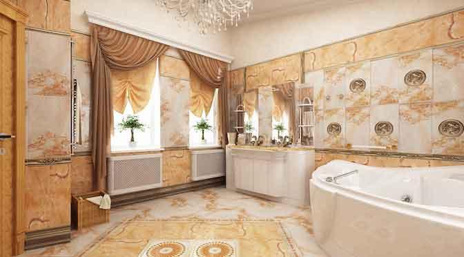 элитная ванная комната