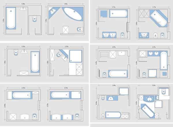 Изумительные варианты дизайна ванной комнаты (113 фото)