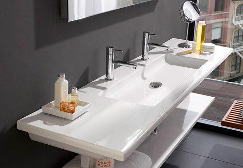 Варианты раковин для ванной комнаты 22 фото Vksplus