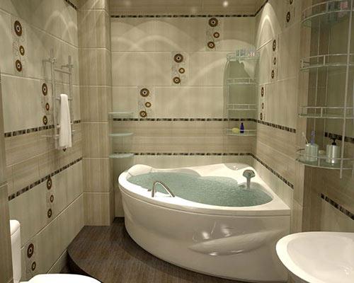 Декор двери в ванную своими руками 2