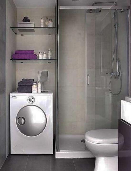 удачный дизайн ванной комнаты с душевой кабиной 64 фото Vksplus