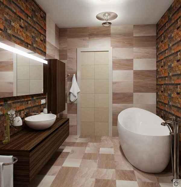 Дизайн ванны 4 метра