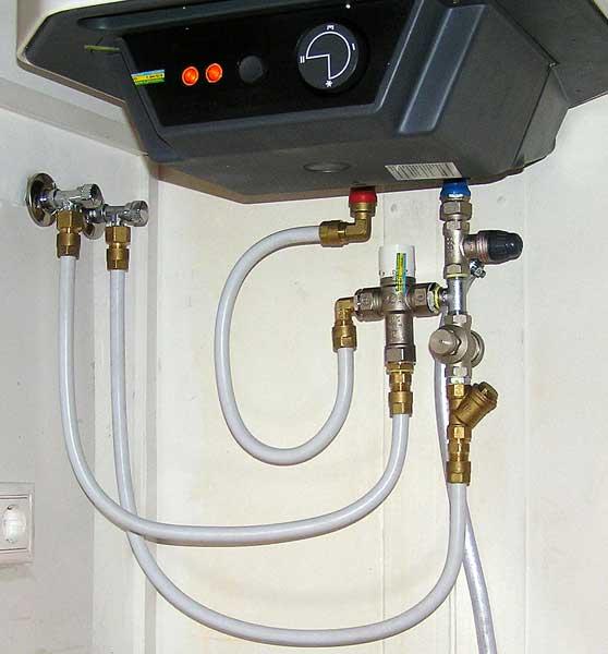 Монтаж водонагревателя накопительного своими руками