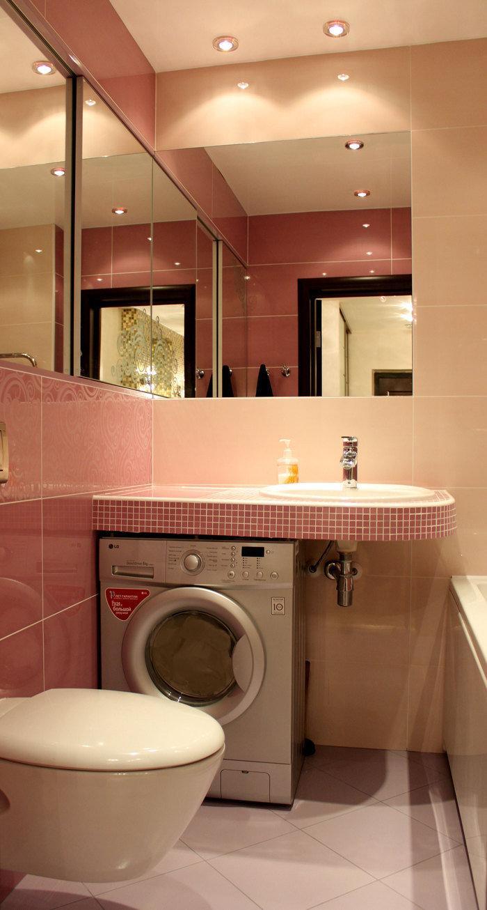 Стильный интерьер ванной комнаты 3 кв м красоты и