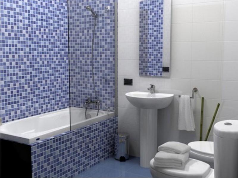 Отделка ванной пластиковыми панелями дизайн фото