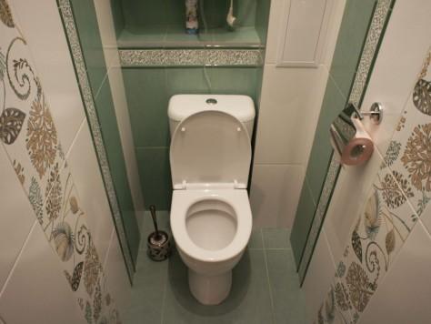 Как провести ремонт в туалете с использованием кафельной плитки: (46 фото), видео укладки плитки