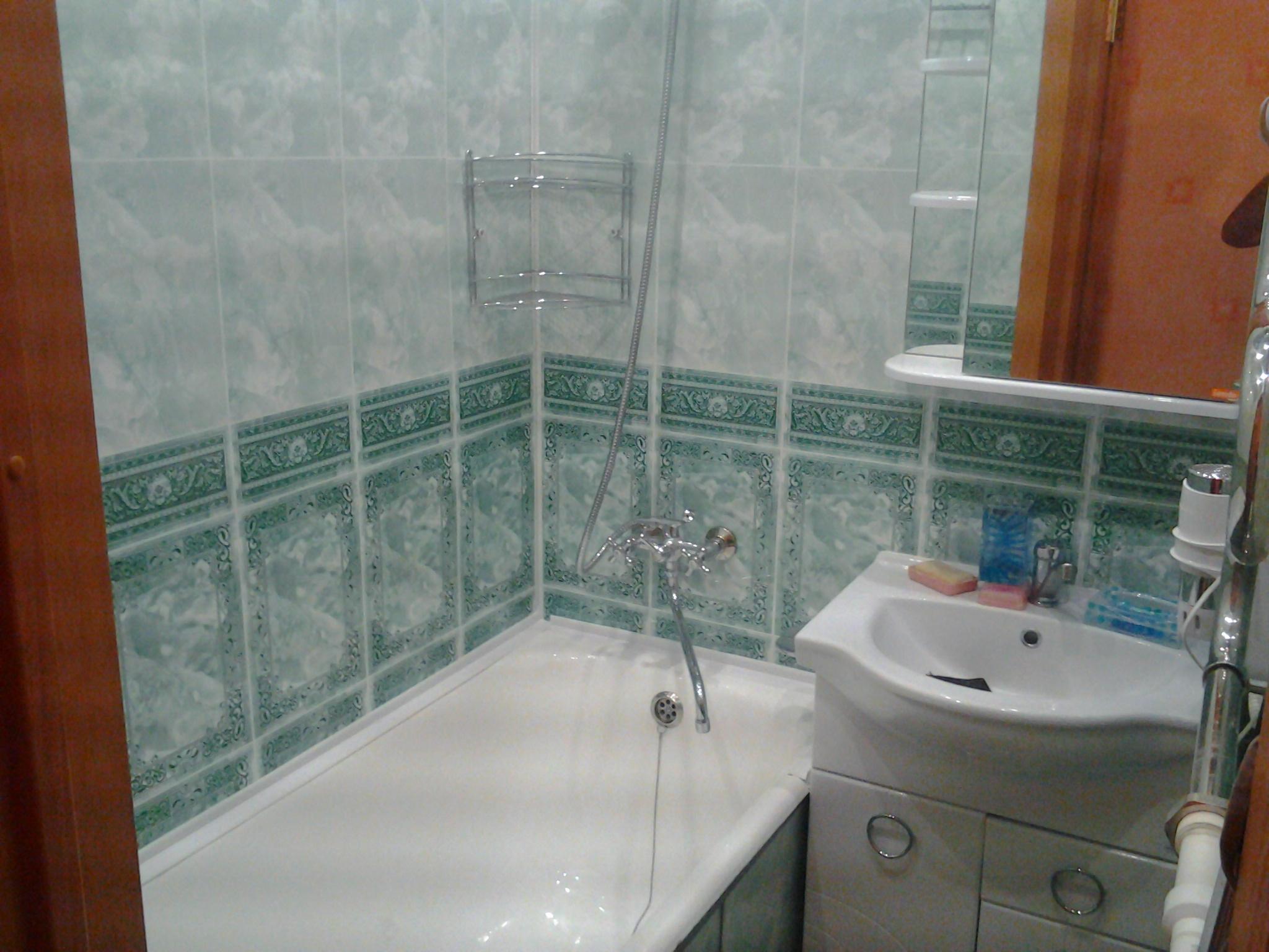 Стены в ванной комнате из панелей пвх своими руками