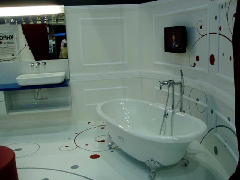 наливные полы в ванную