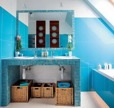 Индивидуальный дизайн ванной комнаты (78 фото), видео